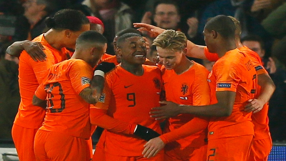 Netherlands France Nations League Soccer